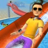 Aqua Park Speed Coaster Slide Cool Water Race Simulator Game - iPhoneアプリ