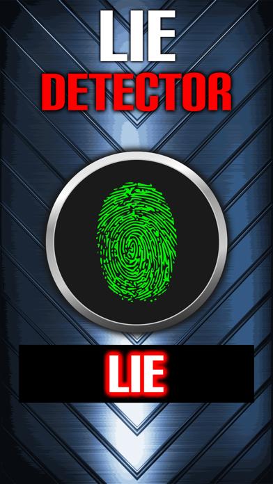 Lie Detector Fingerprint Truth or Lying Scanner Touch Test HD + screenshot two