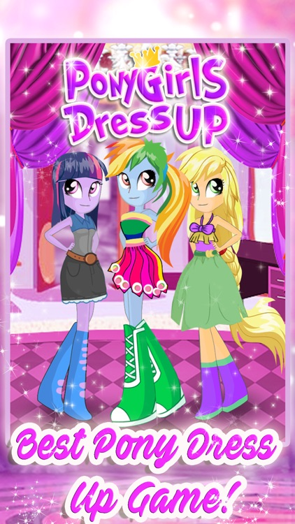 Love Pony Dress Up Games