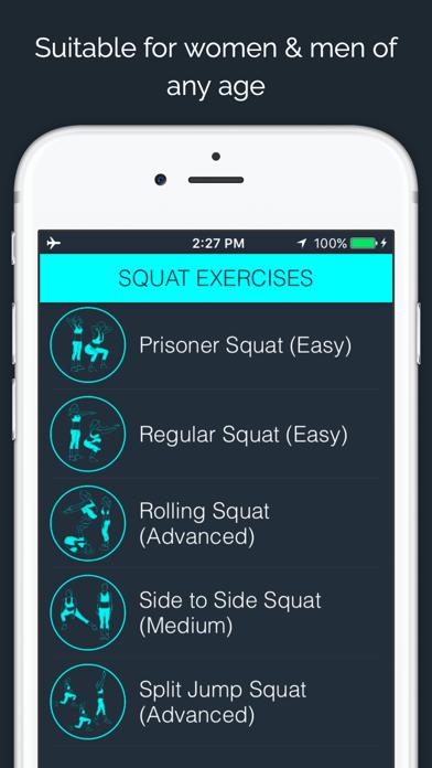 30 Day - Squat Challengeのおすすめ画像4