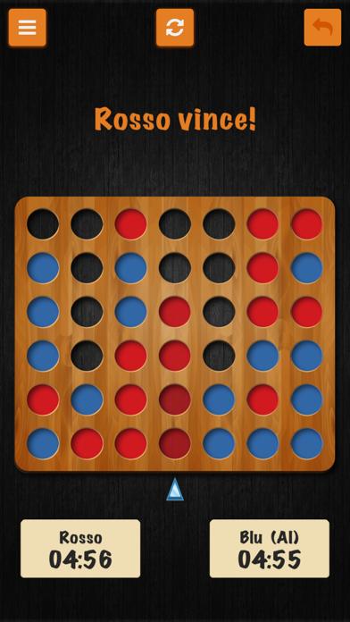 Forza Quattro • I Classici giochi italiani screenshot three