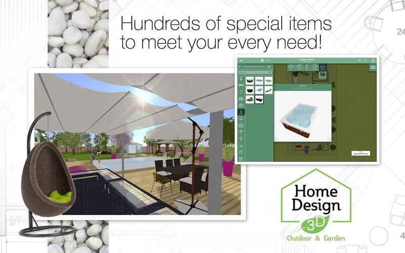 Home Design 3D Outdoor&Garden screenshot 4