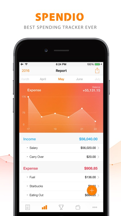 Spendio - Spending Tracker for iPhone & Apple Watch