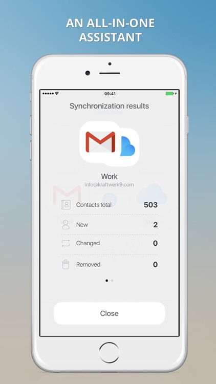 1Sync: contacts sync for Gmail, iCloud, Outlook screenshot-1