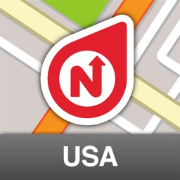 NLife USA Premium - Offline GPS Navigation, Traffic & Maps