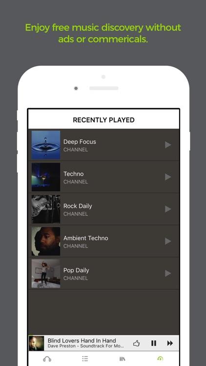Earbits Music Discovery Radio screenshot-3