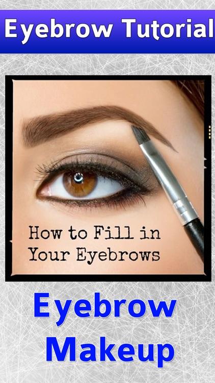 Eye Eyebrow Makeup Tutorials screenshot-3