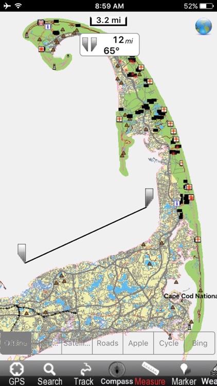 Cape Cod National Seashore - GPS Map Navigator