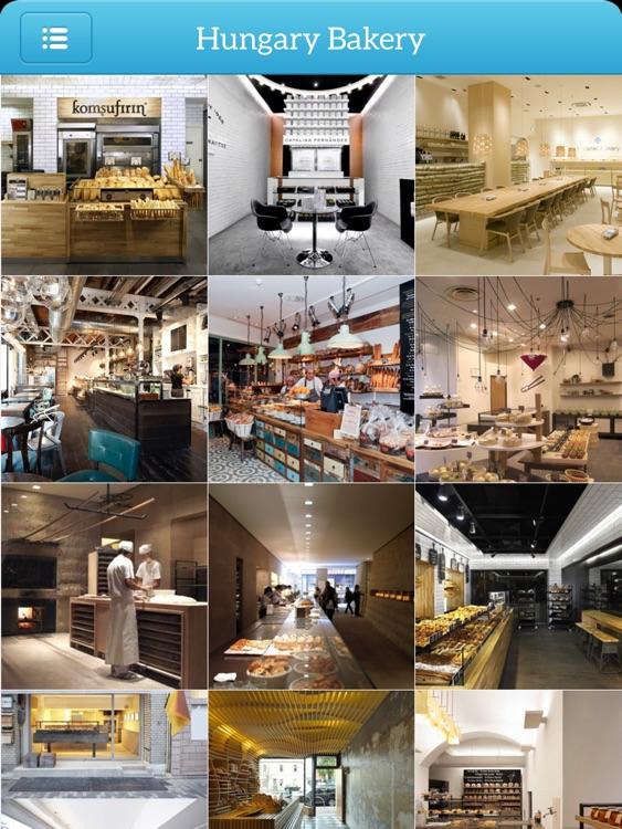 Coffee Shop & Bakery Design Ideas for iPad