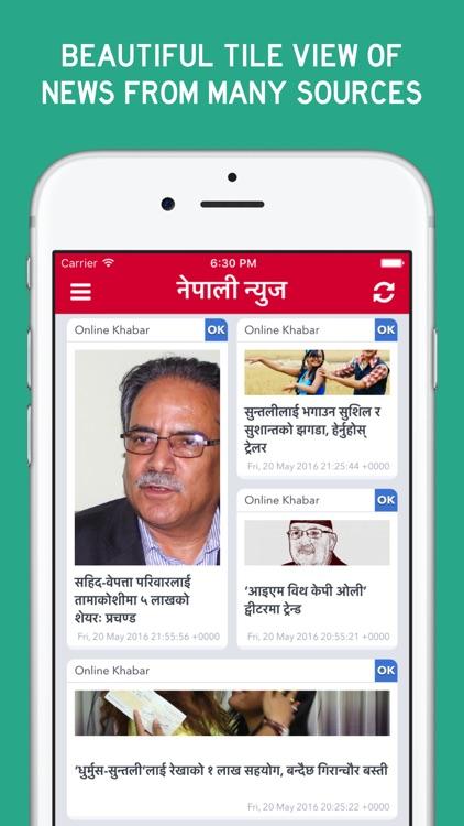 Nepali News - News from Nepal screenshot-0