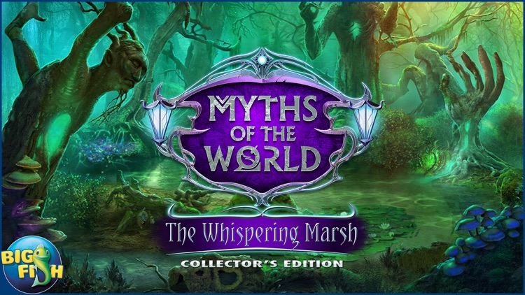 Myths of the World: The Whispering Marsh - A Mystery Hidden Object Game screenshot-4