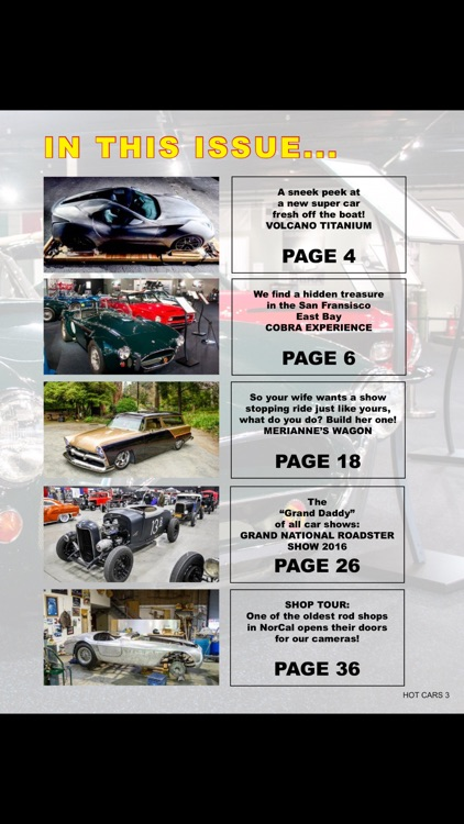 HOT CARS Magazine