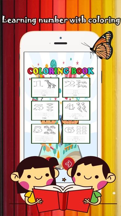 123 Libro de colorear para niños de 1-10: juegos gratis para ...