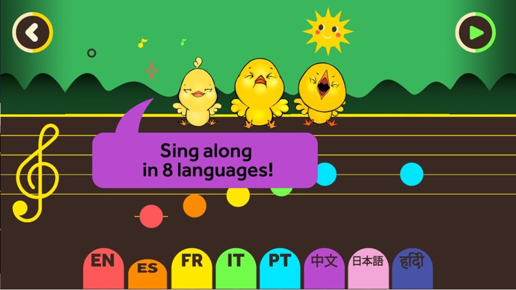 Little Chickies (Los Pollitos) by Canticos - Sing, Play & Learn with Latino Nursery Rhymes screenshot-4