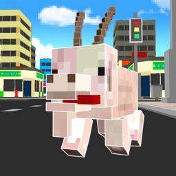 Cube Goat Simulator 3D