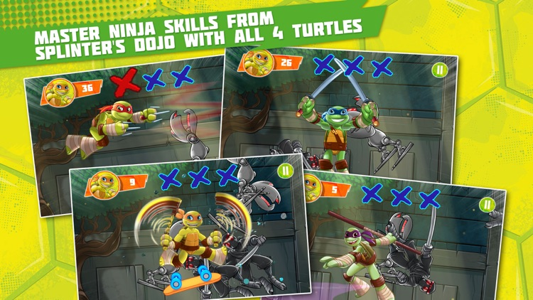 Teenage Mutant Ninja Turtles: Half-Shell Heroes screenshot-3