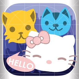 Kitty Matching - Help us catch adorable kitten in match 3 puzzle games