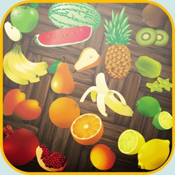 fruits in jungle line