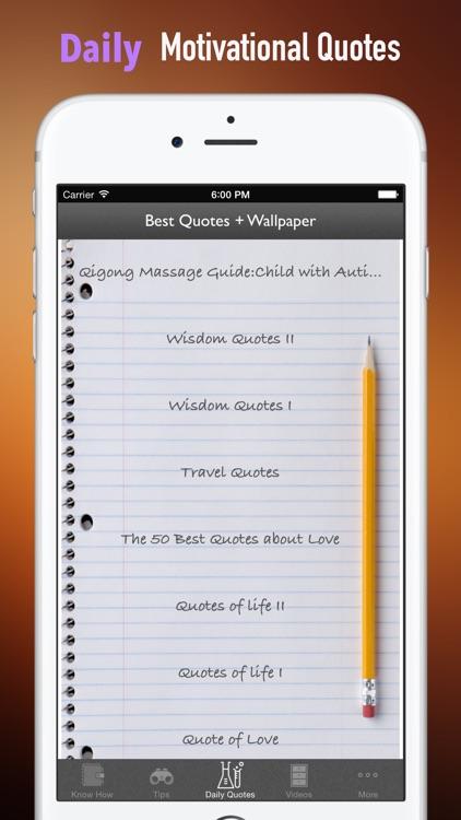 Qigong Massage Guide:Child with Autism screenshot-4