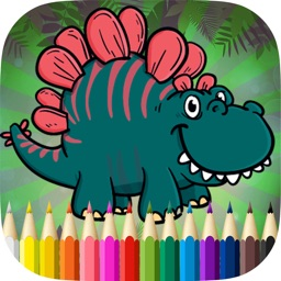 Free Dinosaur Coloring Books
