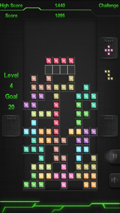 Block classic puzzle game : Brick Blocks iRon 2.1 IOS