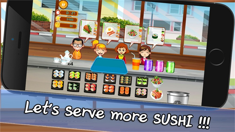 Cooking Chef Bar Sushi Deluxe