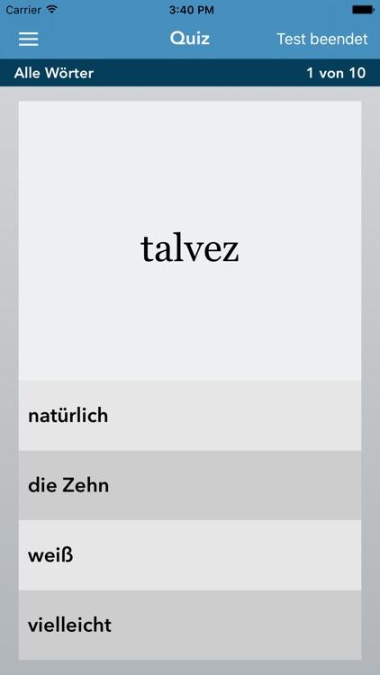 German-Portuguese AccelaStudy® screenshot-3