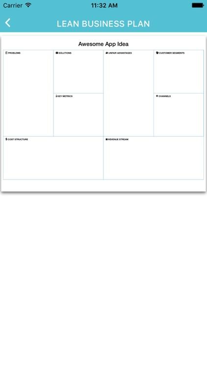 Lean Business Plan screenshot-4