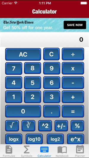 MAC Algebra on the App Store