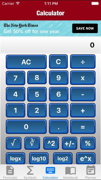 MAC Algebra
