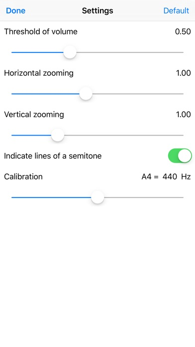 VocalPitchMonitor screenshot1