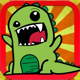 Cute Dino Coloring Book - Drawing Pages and Painting Games for Boy and Girl