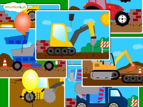 建設車両 -  子供のためのゲーム, アクティビティ、お絵かきのおすすめ画像5