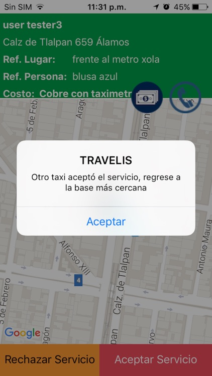 Sitio500 Taxi