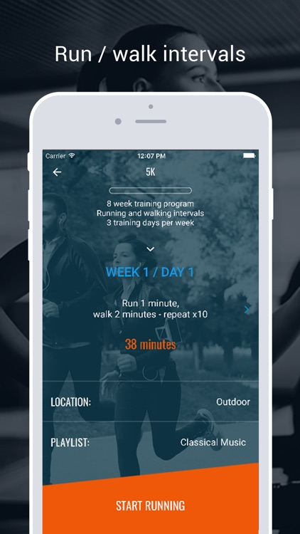 Running Trainer: 5K 10K Marathon Run Training Plan