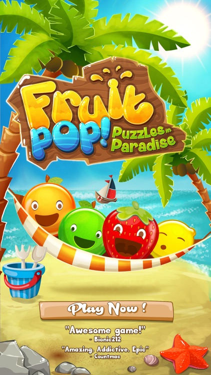 Fruit Pop! Puzzles in Paradise - Fruit Pop Sequel screenshot-4