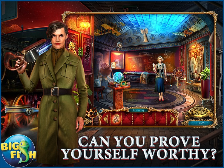 The Curio Society: Eclipse over Mesina HD - A Hidden Object Mystery (Full) screenshot-0