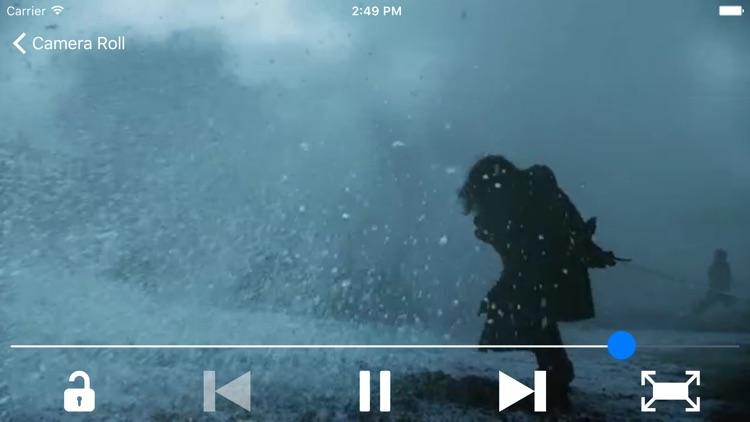vPlayer - Play HD videos screenshot-3