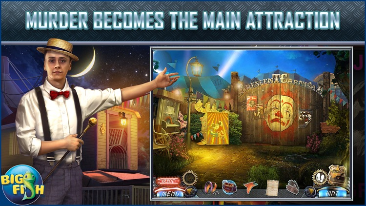Dead Reckoning: The Crescent Case - A Mystery Hidden Object Game (Full) screenshot-0