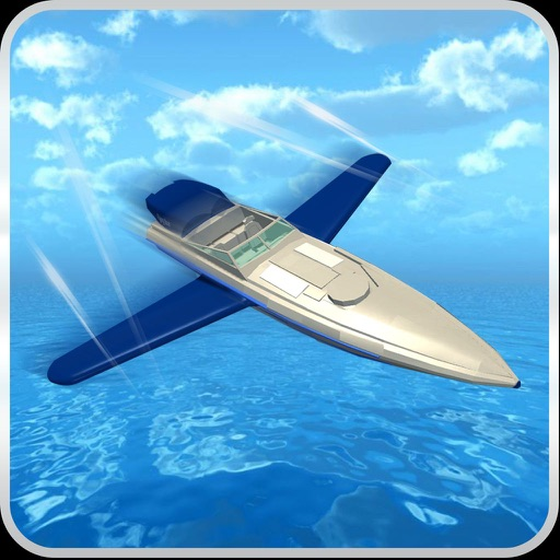 Flying Boat D Futuristic Passenger Cruise Ship Flight Simulator - Flying cruise ship