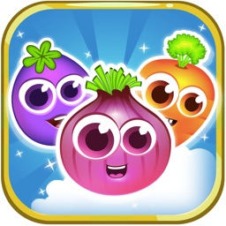 Jewel Match King Veggie - Amazing Free Match 3