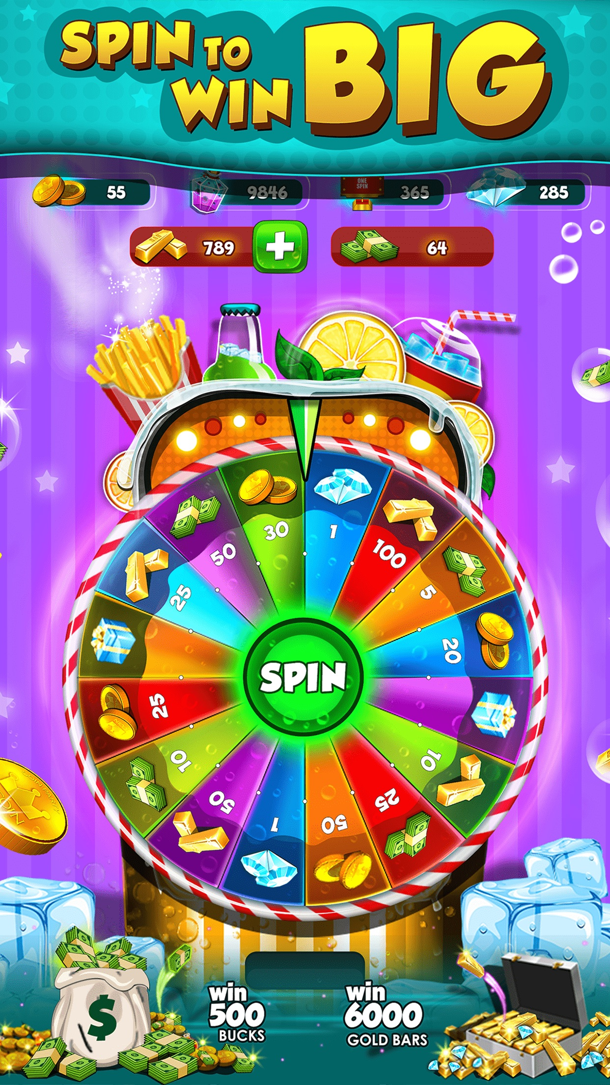 Soda Coin Party: Free Casino Pusher Screenshot