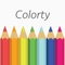 Let the colors fill your mind in a relaxing drawing experience