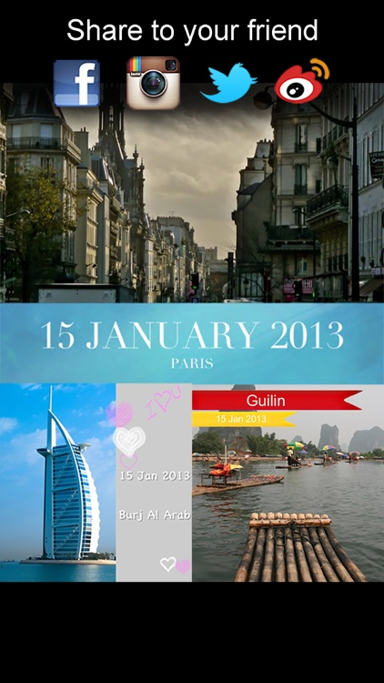 Place and Beautiful Travel Postcards - location based photo app screenshot-4