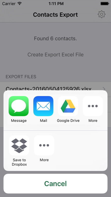 Contacts2XL - Export contacts to Excel - Online Game Hack