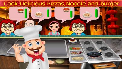Chef Cooking Master Food Fever : Maker Hamburger,Hotdog,Pizza Free GamesScreenshot of 3
