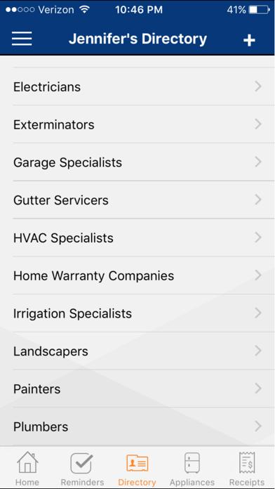 HomeKeepr screenshot