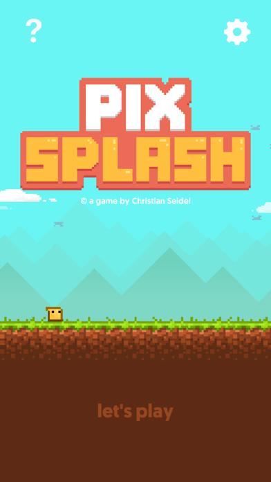 Pix Splash - Endless Arcade Jumper