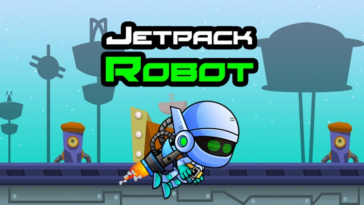 Jetpack Robot - The Endless Flash Runner Game