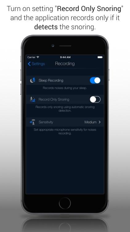 Sleep Recorder Plus Free screenshot-3